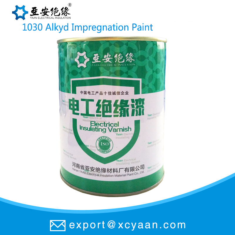 1030 Alkyd Impregnation Insulating Paint Fast - drying Water
